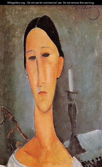 Portrait of Anna Zborowska I - Amedeo Modigliani