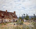 Abandoned Cottage - Alfred Sisley