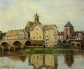 Moret-sur-Loing, Morning - Alfred Sisley