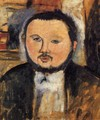 Portrait of Diego Rivera III - Amedeo Modigliani