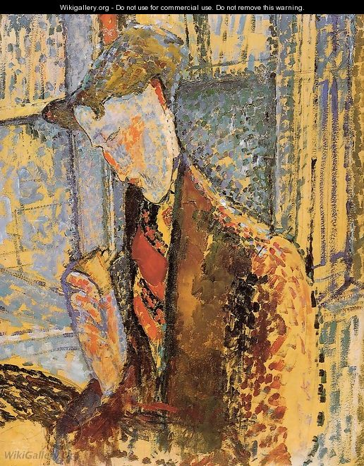 Portrait of Frank Burty Haviland - Amedeo Modigliani