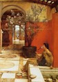 An Oleander - Sir Lawrence Alma-Tadema