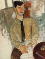 Portrait of Henri Laurens I - Amedeo Modigliani