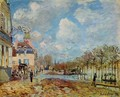 The Flood at Port-Marly - Alfred Sisley