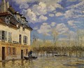 Flood at Port-Marly IV - Alfred Sisley