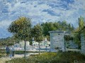 The Watering Place at Marly - Alfred Sisley