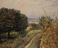 Among the Vines near Louveciennes - Alfred Sisley