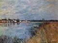 Riverbank at Saint-Mammes - Alfred Sisley