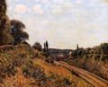 The Station at Sevres I - Alfred Sisley