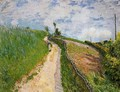 The Hill Path, Ville d'Avray - Alfred Sisley