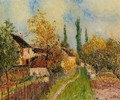 Path at Sablons - Alfred Sisley