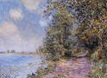 An August Afternoon near Veneux - Alfred Sisley