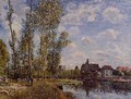Moret, View from the Loing, May Afternoon - Alfred Sisley