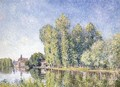 The Loing at Moret - Alfred Sisley
