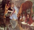 Mlle Fiocre in the Ballet 'La Source' - Edgar Degas