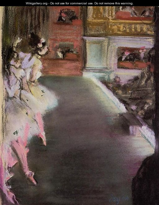 Dancers at the Old Opera House - Edgar Degas