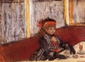 Woman in a Cafe - Edgar Degas