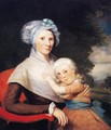 Martha Tennent Rogers and Daughter - Ralph Earl