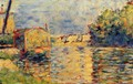 River's Edge - Georges Seurat