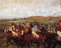 The Gentlemen's Race: Before the Start - Edgar Degas