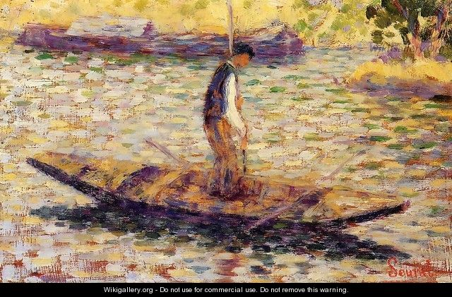 Riverman - Georges Seurat