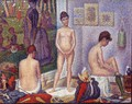 Models (small version) - Georges Seurat
