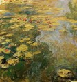 The Water-Lily Pond (left side) - Claude Oscar Monet