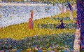 Women by the Water - Georges Seurat