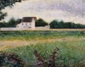 Landscape of the Ile de France - Georges Seurat