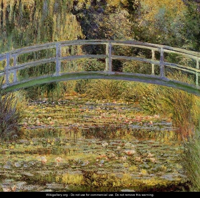 Water-Lily Pond I - Claude Oscar Monet