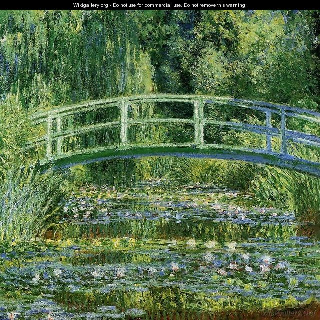 Water-Lily Pond II - Claude Oscar Monet