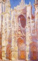 Rouen Cathedral, the Portal in the Sun - Claude Oscar Monet