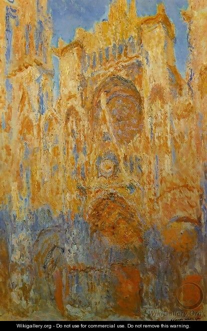 Rouen Cathedral - Joseph Mallord William Turner