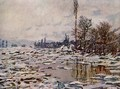 Breakup of the Ice, Lavacourt - Claude Oscar Monet