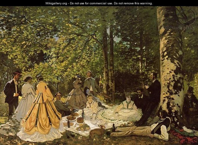Luncheon on the Grass 2 - Claude Oscar Monet