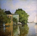 Zaandam (detail) - Claude Oscar Monet