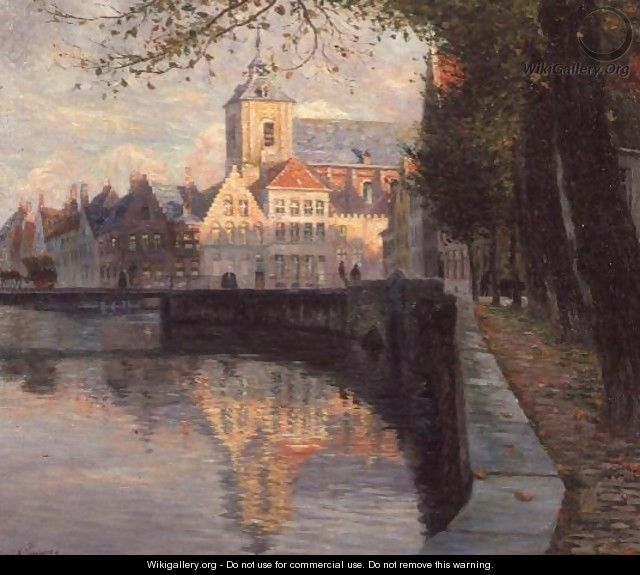 Autumn in Bruges - Omer Coppens