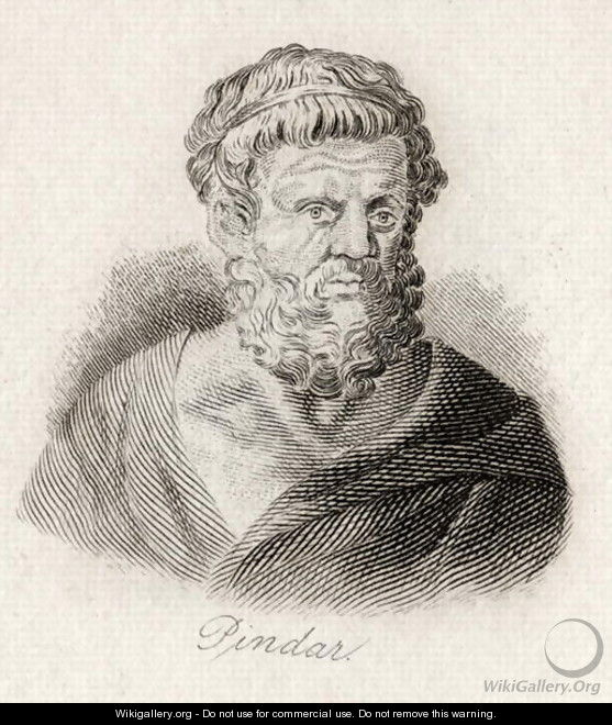 Pindar of Thebes - J.W. Cook