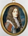 Miniature of James II as the Duke of York, 1661 - Samuel Cooper