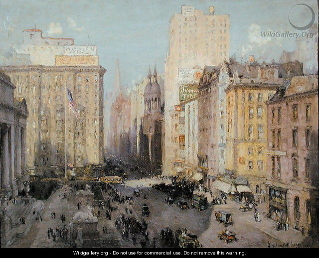 Fifth Avenue, New York, 1913 - Colin Campbell Cooper