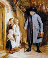The Village Schoolmaster, 1881 - Charles West Cope