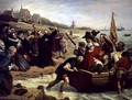 The Pilgrim Fathers: Departure of a Puritan Family for New England, 1856 - Charles West Cope