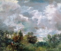 Study of Sky and Trees - John Constable