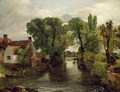 The Mill Stream, 1814-15 - John Constable