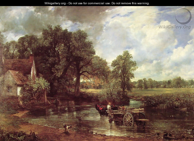 The Hay Wain, 1821 - John Constable