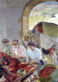 Preparing the Dry Grapes, 1890 - Joaquin Sorolla y Bastida