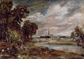 Salisbury Cathedral: from the meadows - John Constable