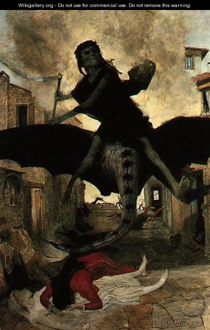 The Plague, 1898 - Arnold Böcklin