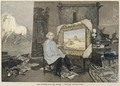 Rosa Bonheur (1822-99) in her studio, from Le Petit Journal 3rd June 1893 - Madame Consuelo-Fould
