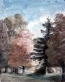 Study of Trees in a Park - John Constable